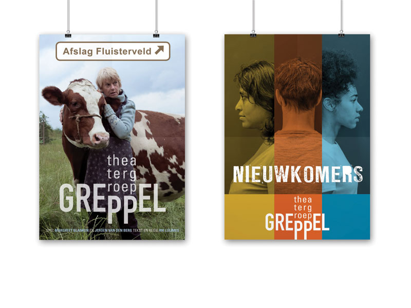 Theatergroep Greppel affiches